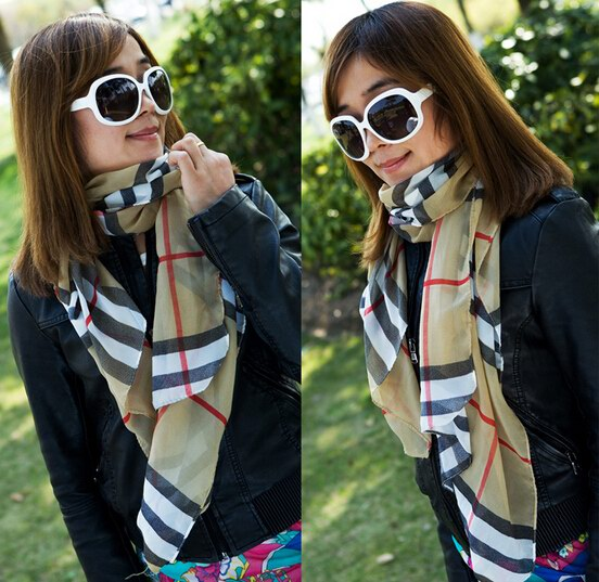SEO_COMMON_KEYWORDS 0061 Low price classic pattern scarf for lady